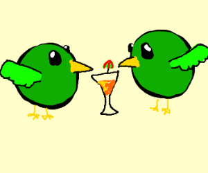 twin drinking birds