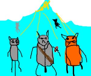 All cats go to heaven, even if they were evil