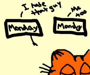 In Soviet Russia, Mondays hate Garfield