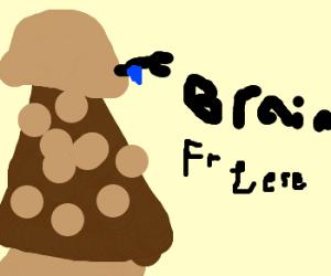 Dalek has ice cream troubles: REFRIGERATE!