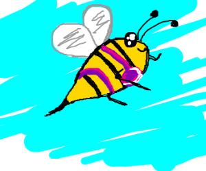 Bee in a bikini