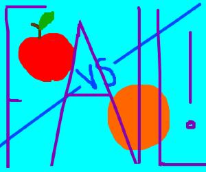 Apple vs. Orange; no matter who wins, we lose!