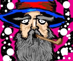 Wizards smoking dope