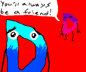 """Drawception gets """"Friendzoned"""" by his love"""