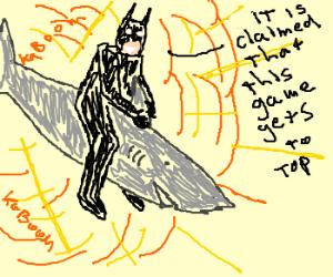 Batman + Shark + explosion = top game