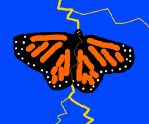 The Monarch is hit with electricity