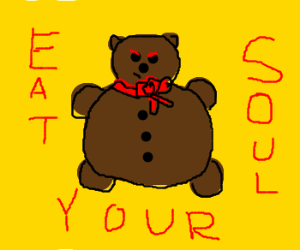 Gingerbread Bear will eat your soul