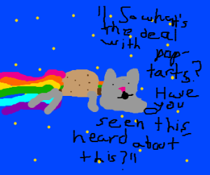 On The Tonight Show We Have Nyan Leno!