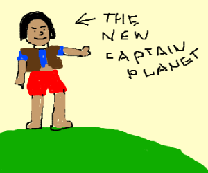 Ma ti is the new Captain Planet Drawception