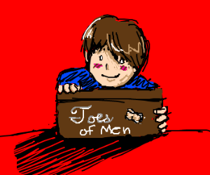 I have a box of men's toes