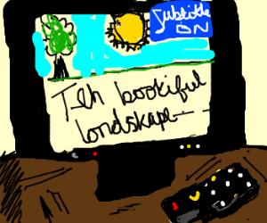 Subtitle writer w/ dyslexia