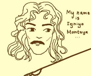 Inigo Montoya introduces himself.