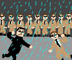 It's raining in Matrix