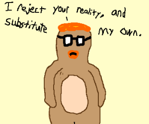 Mythbuster Adam as a bear