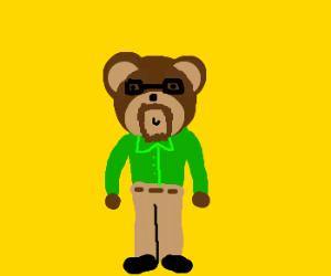 Don't trust that teddybear, he has a dark side