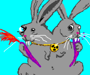 A Nuclear Rabbit