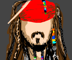 Faceless Captain Jack Sparrow