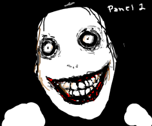 Pnl1/24. Draw me Jeff the killer.