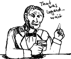 Barney Stinson Is Old And Forgetful Drawing By Iny