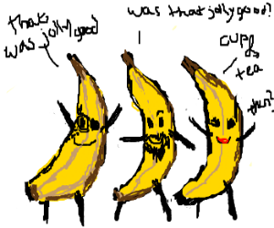 A bunch of lovely bananas