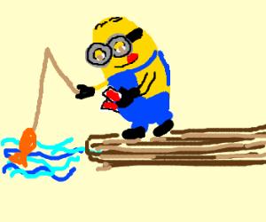 Minion playing Go Fish