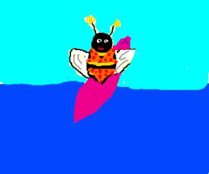 Bee-ch Bee in a Bee-kini