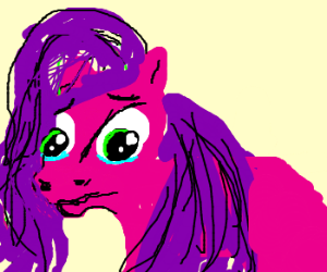 Little Pony on the verge of tears *sniff*