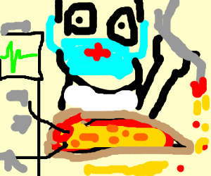Surgical Pizza Difficulties