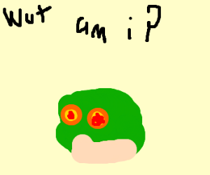 Hypnotoad is confused about what he is
