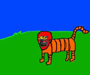 Ganondorf is now a tiger