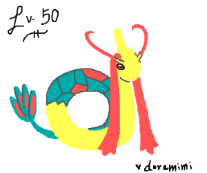 A Milotic called doremimi is Lv 50