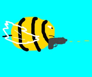 bee shotting