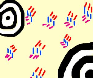 Jasper Johns bullseye