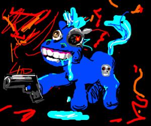 Derpy Terminator pony