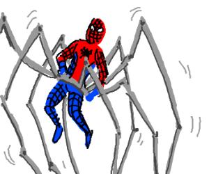 Spider-Man gets giant mechanical spider pants.
