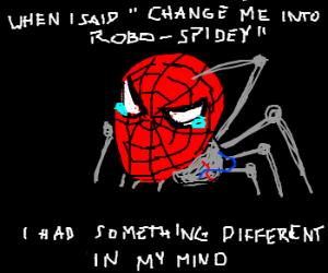 Spiderman goes ... ROBOTIC