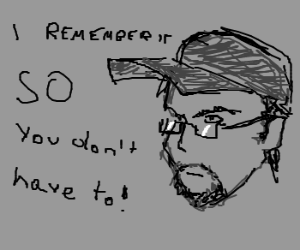 nostalgia critic remembers things...not you