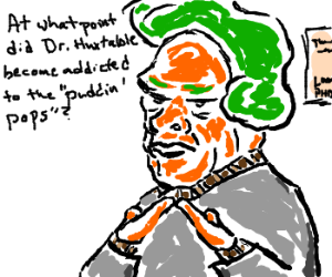 Oompa Loompa interrogates the Cosby family