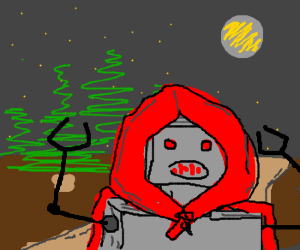 Red Robot Riding Hood