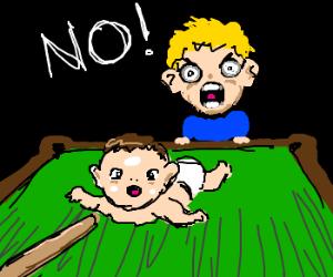 Nobody puts Baby in the corner.