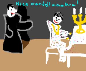 Dracula tries to pick up Liberace