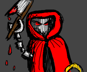 Little Red Riding Hood is a bloodthirsty robot