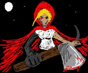 Red Riding Hood's now a cyborg out for revenge