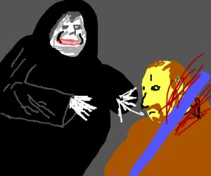 Palpatine has possessed Obi-Wan