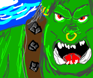 Orc cover for Warcraft 3