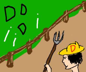 Old D -donald had a farm d-i-d-i-d