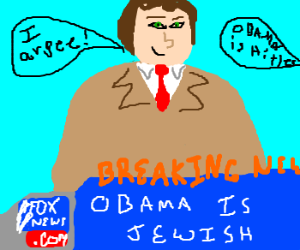 Brainwashed news reporter
