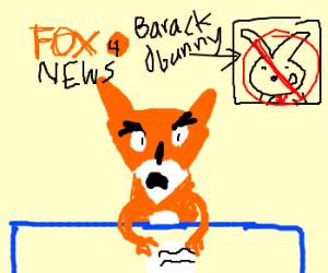 (Actual) Fox News hates Barack Obunny