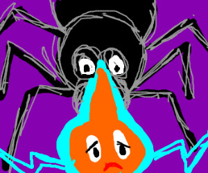 Ghost/elec Pokemon has nightmares about bug