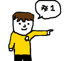 kirk thinks you're the best